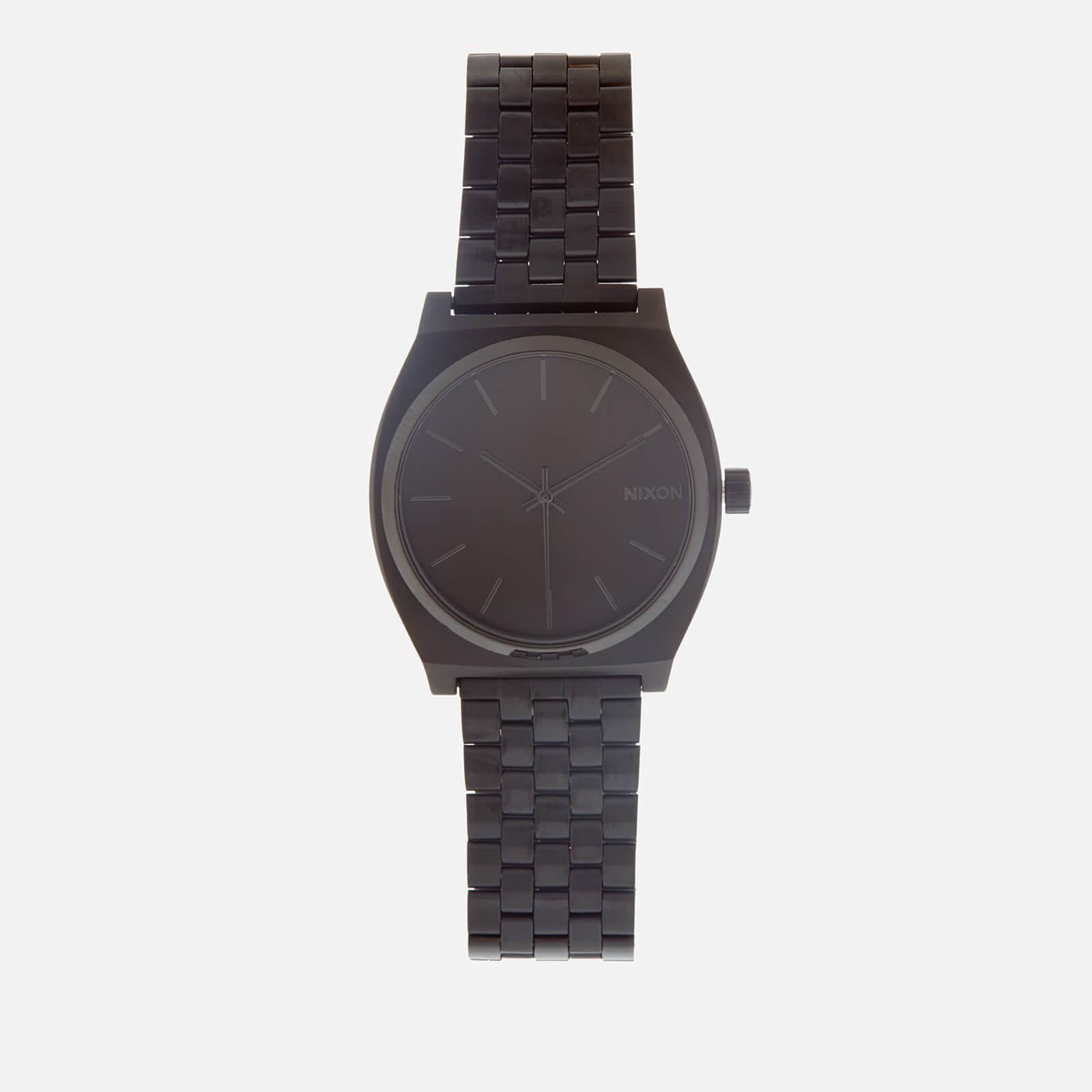 Nixon Men's The Time Teller Watch - All Black