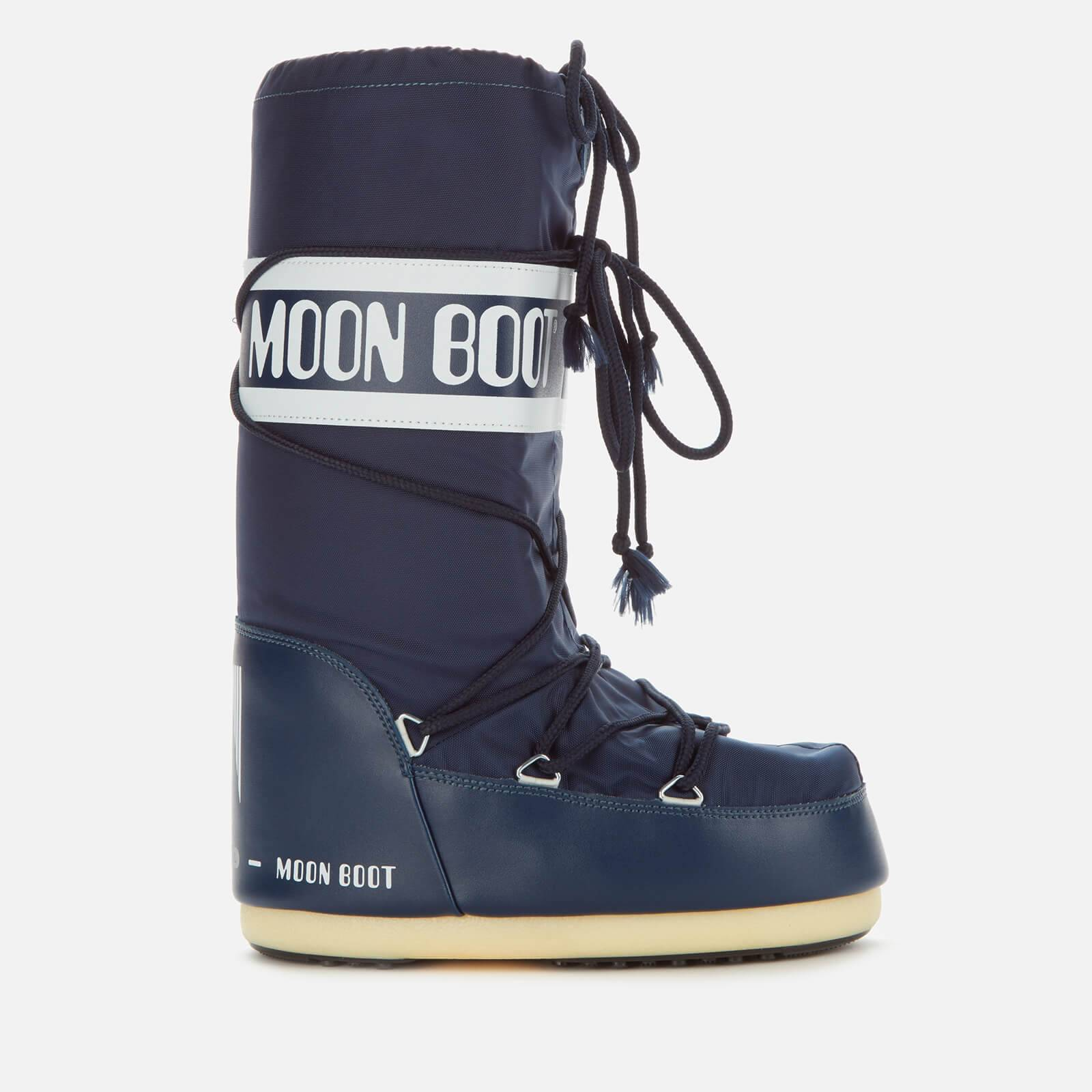 Moon Boot Women's Nylon Boots - Blue - EU 35-38 - Blue