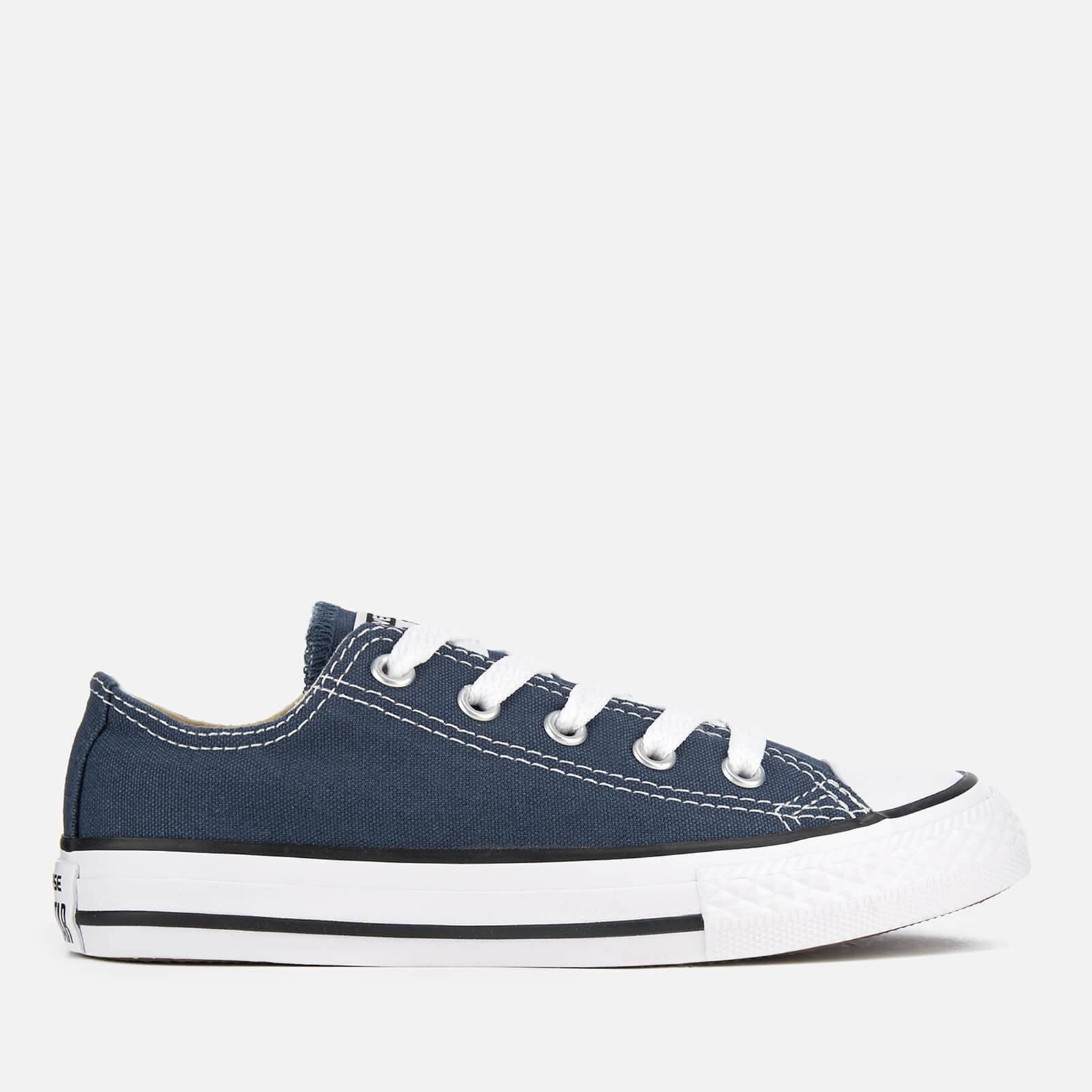 Converse Kids Chuck Taylor All Star Ox Trainers - Navy - UK 1 Kids