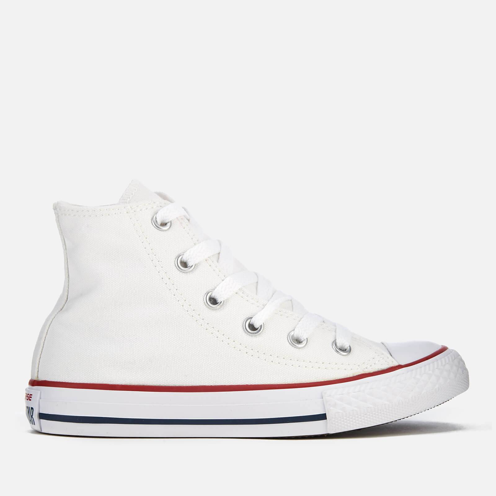 Converse Kids Chuck Taylor All Star Hi-Top Trainers - Optical White - UK 11 Kids - White