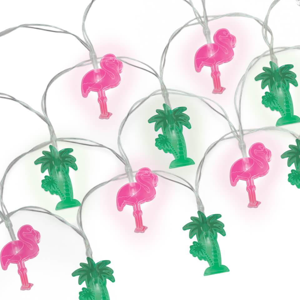 Mustard Tropical String Lights (Battery Powered)