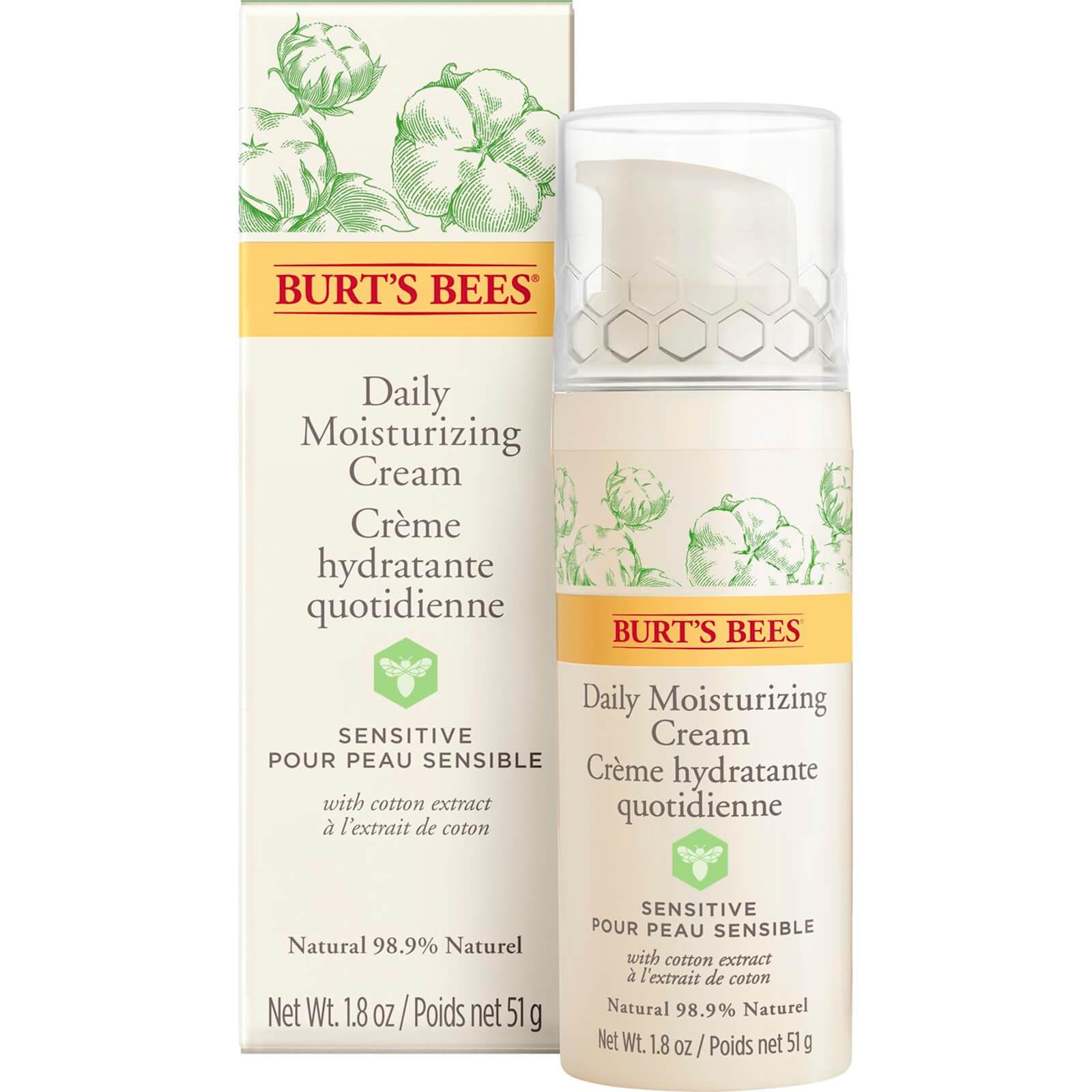 Burts Bees Sensitive Daily Moisturising Cream 50g