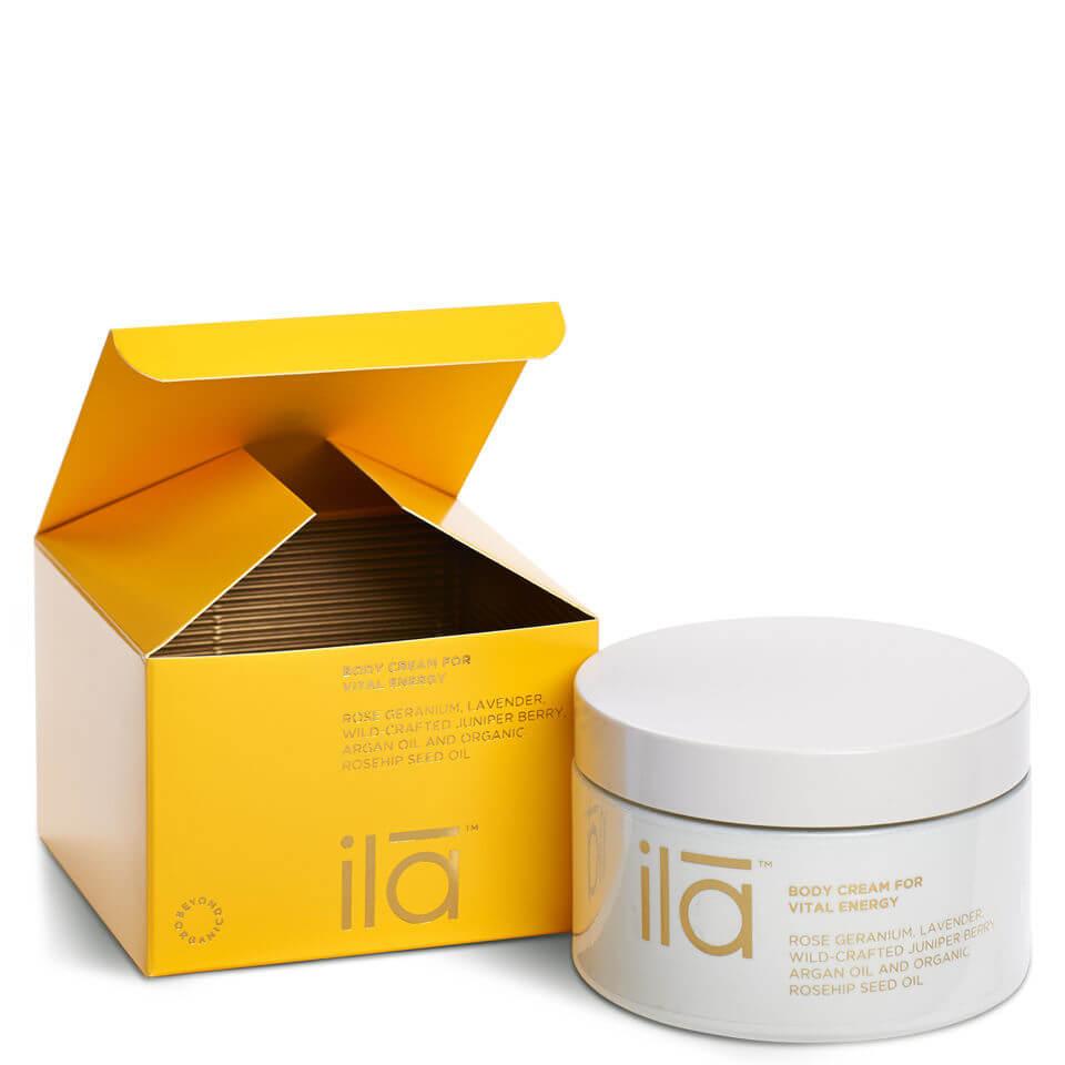 ila-spa Body Cream for Vital Energy 200g