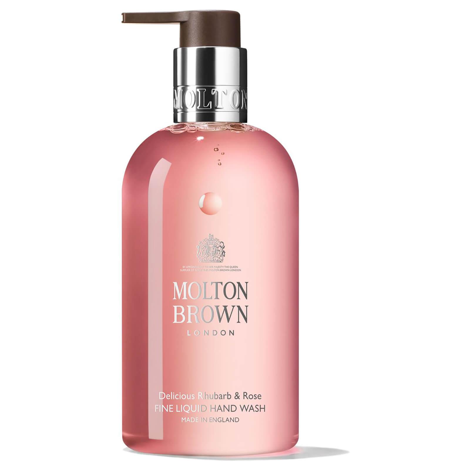 Molton Brown Delicious Rhubarb and Rose Fine Liquid Hand Wash (300ml)