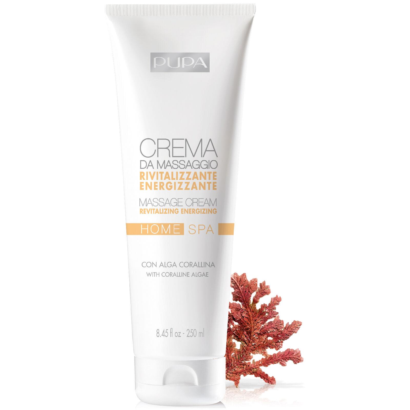 PUPA Home Spa Massage Cream - Revitalising 250ml