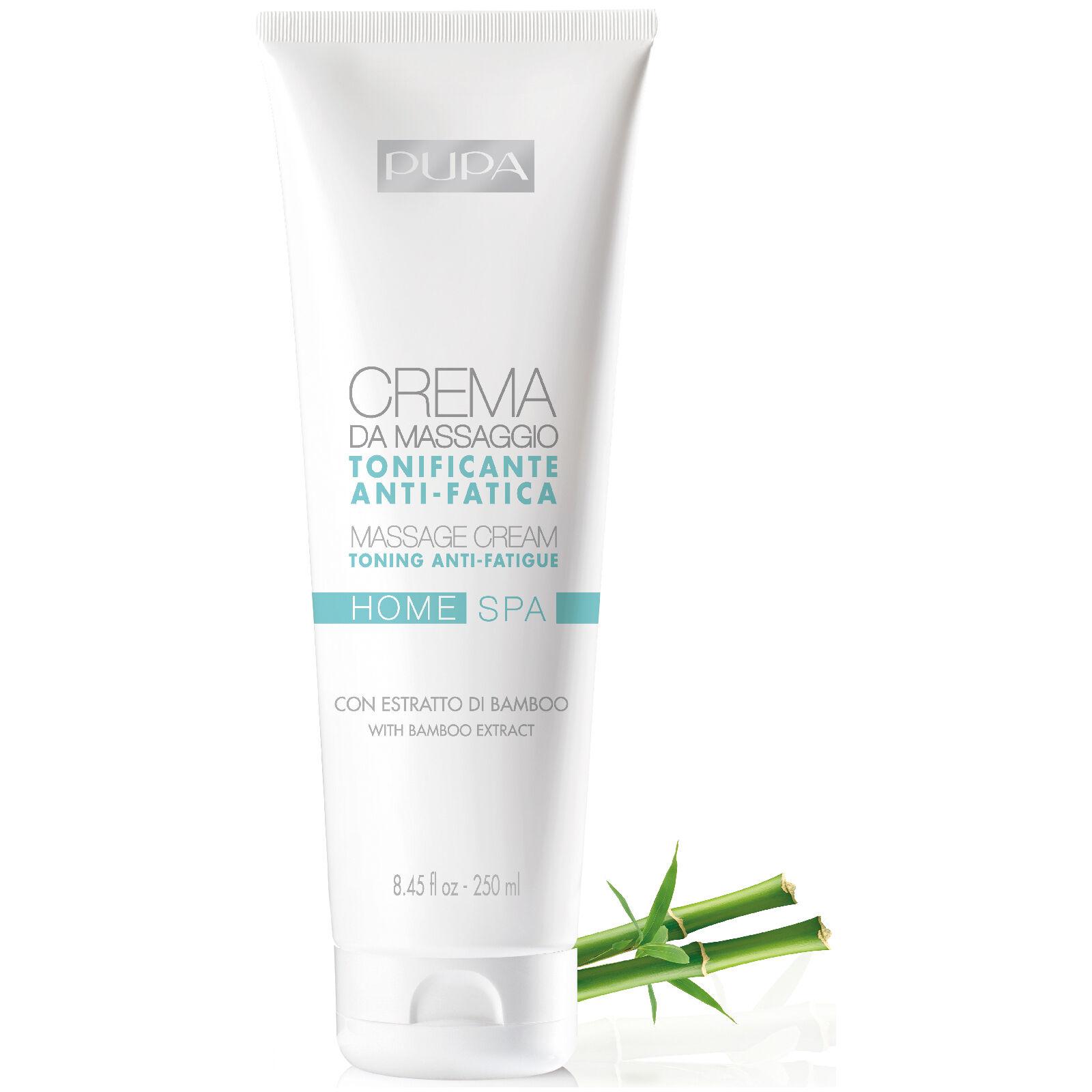 PUPA Home Spa Massage Cream - Anti-Fatigue 250ml