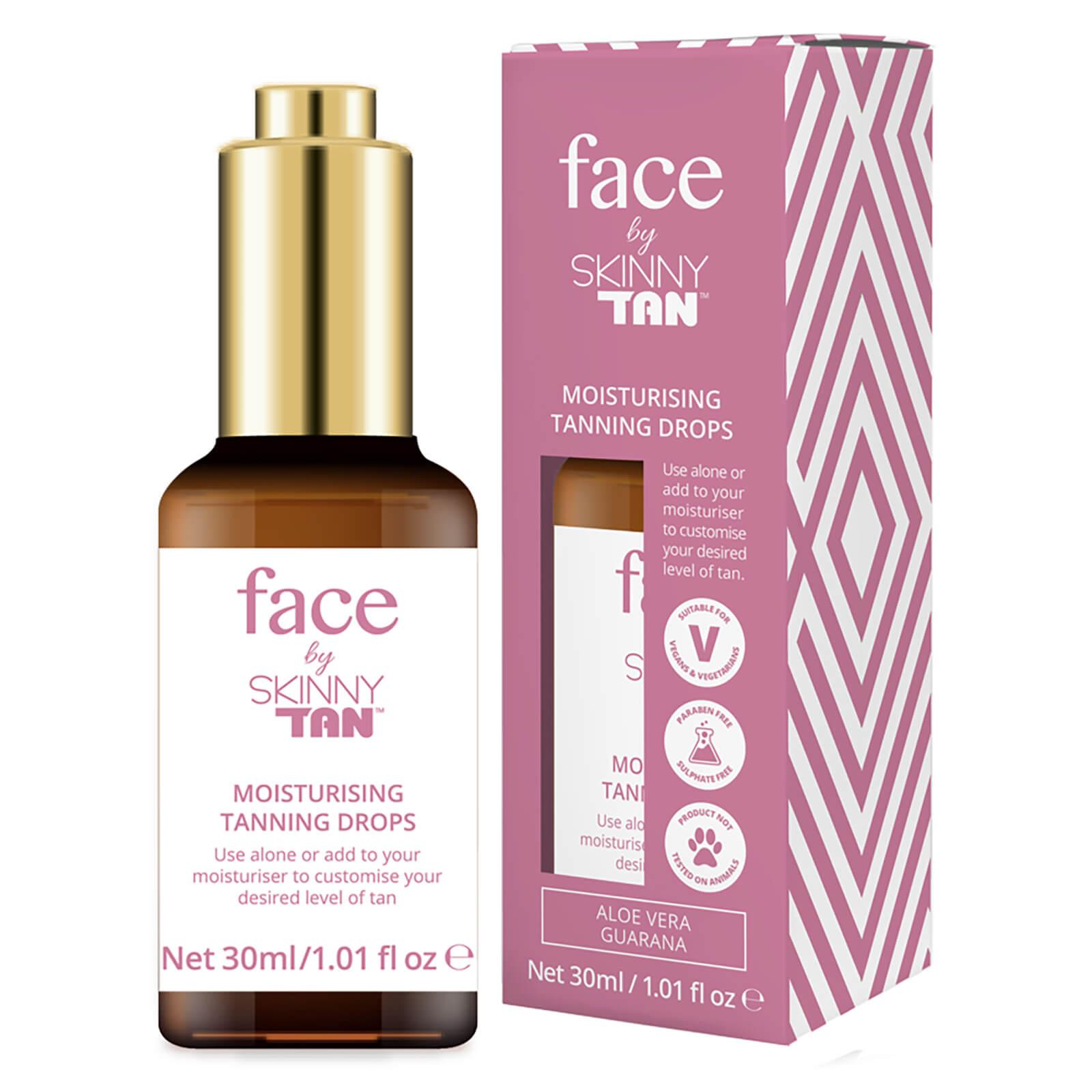 Skinny Tan Face by Skinny Tan Moisturising Oil Drops 30ml