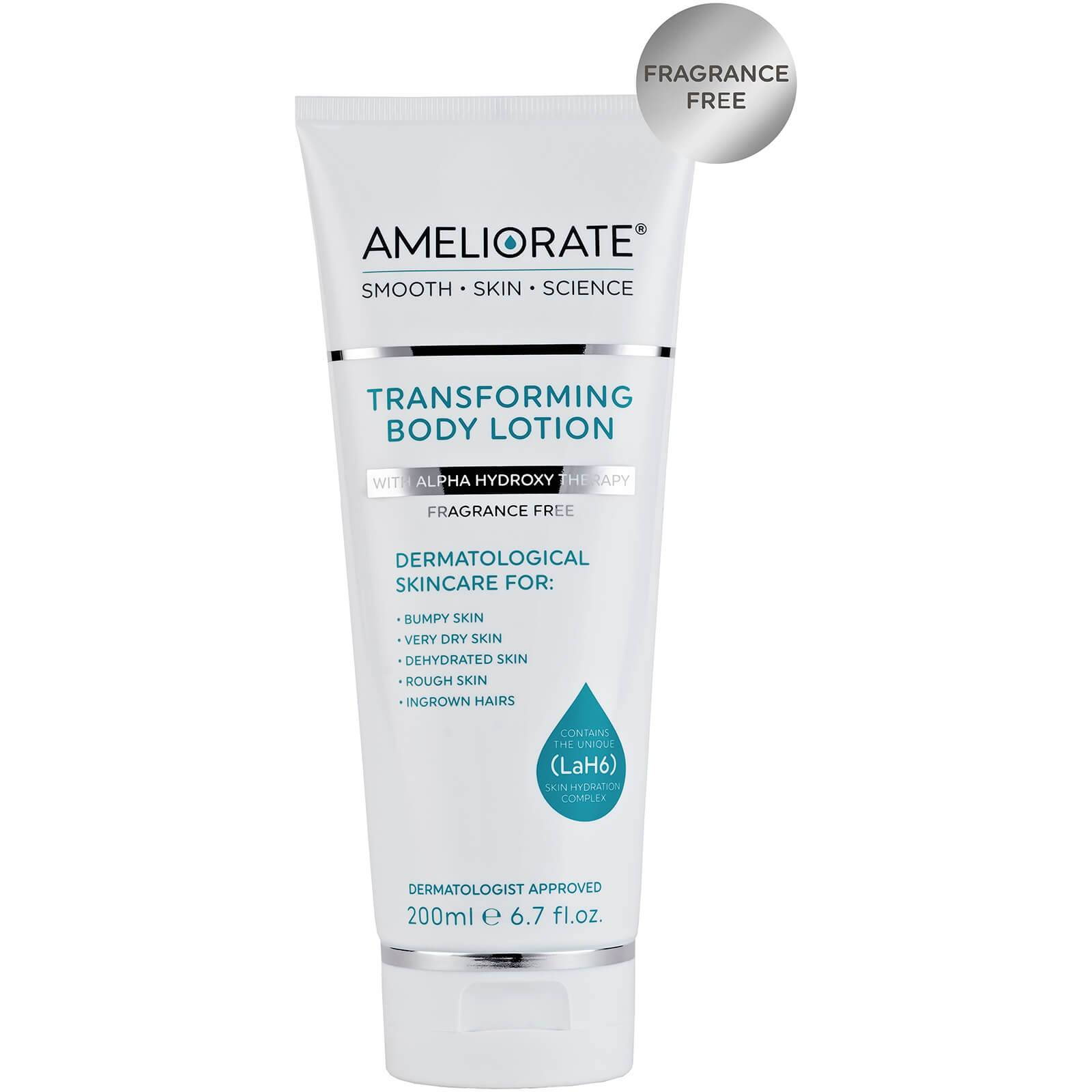 AMELIORATE Transforming Body Lotion Fragrance Free 200ml
