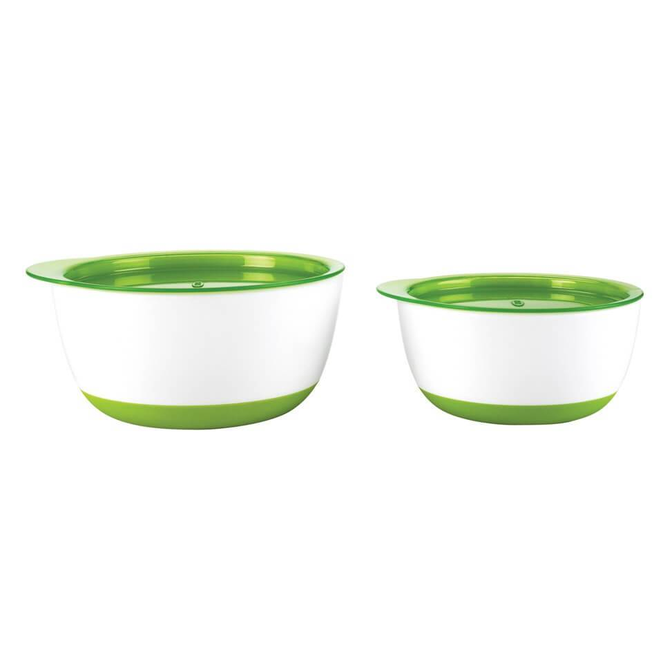 OXO Tot Small and Large Bowl Set - Green