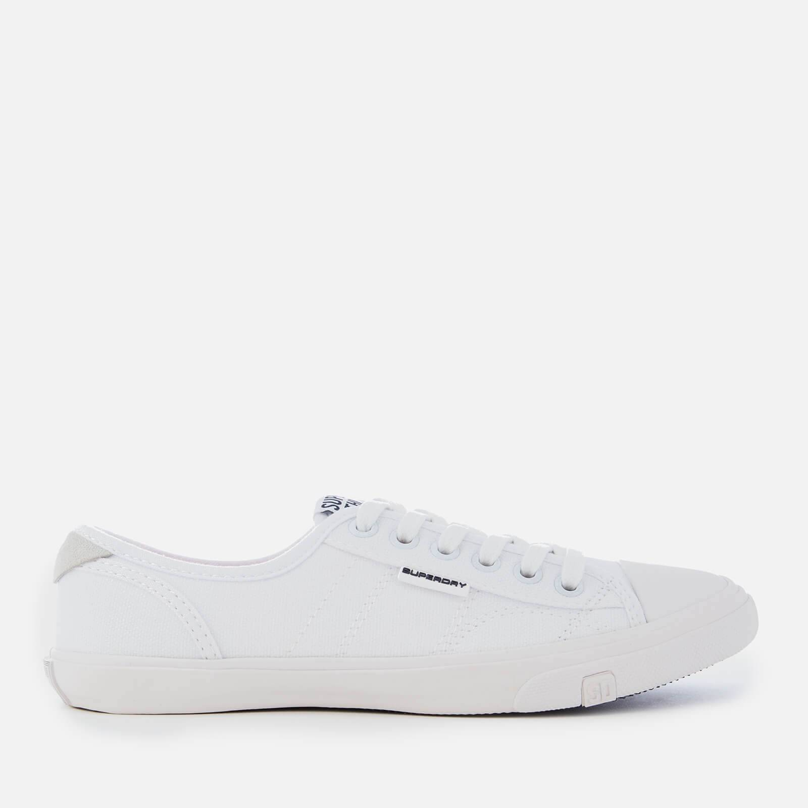 Superdry Women's Low Pro Canvas Trainers - Optic White - UK 3