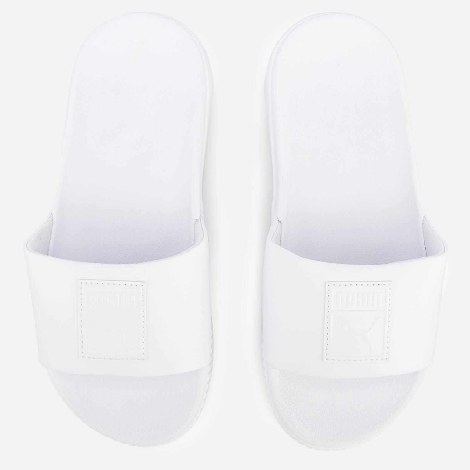 Puma Women's Platform Slide Sandals - Puma White/Puma White - UK 5 - White