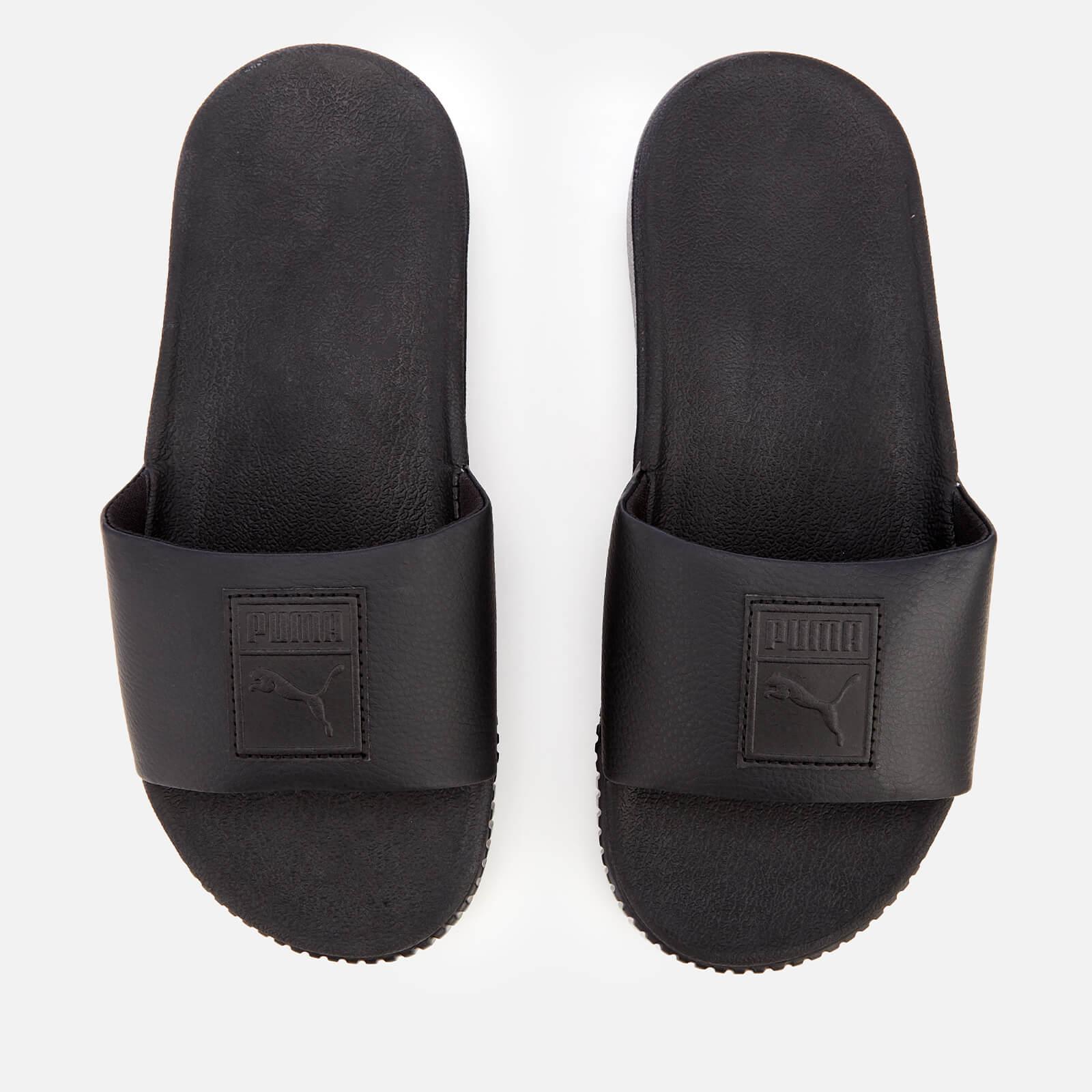 Puma Women's Platform Slide Sandals - Puma Black/Puma Black - UK 4 - Black
