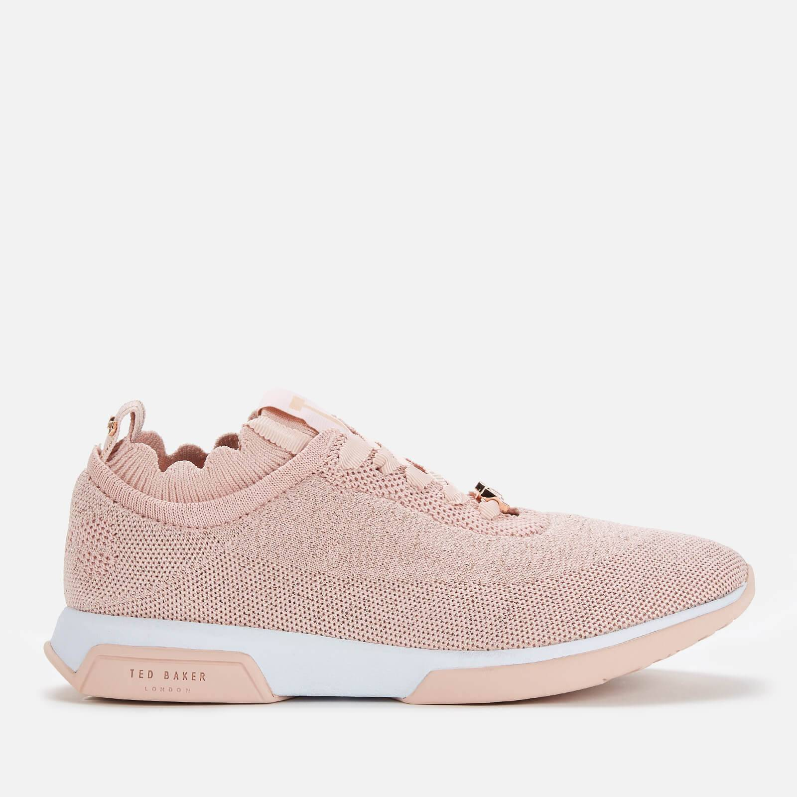 Ted Baker Women's Lyara Knitted Runner Style Trainers - Pink - UK 6 - Pink