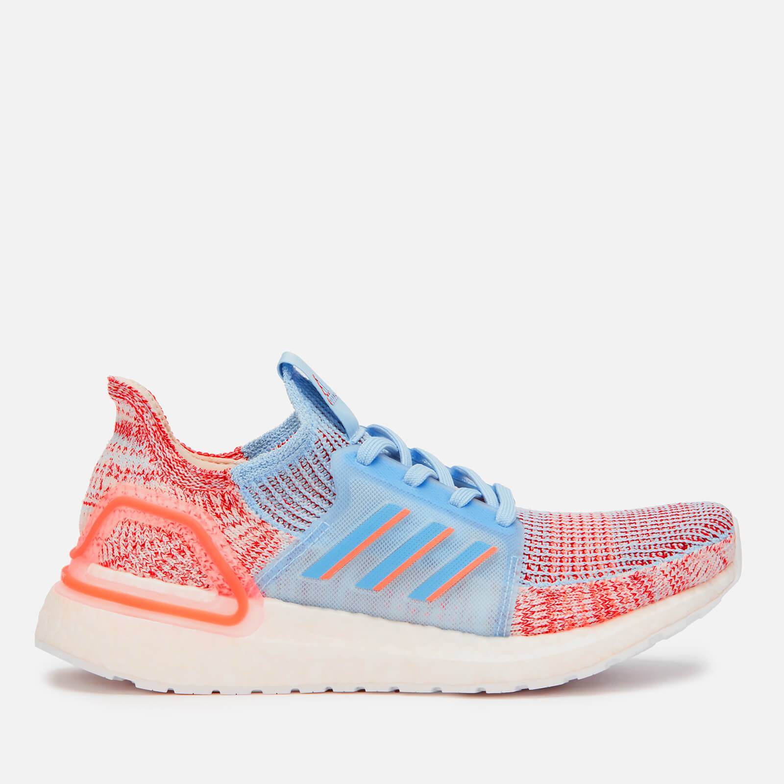 adidas Women's Ultraboost 19 Trainers - Blue/Orange - UK 4 - Multi