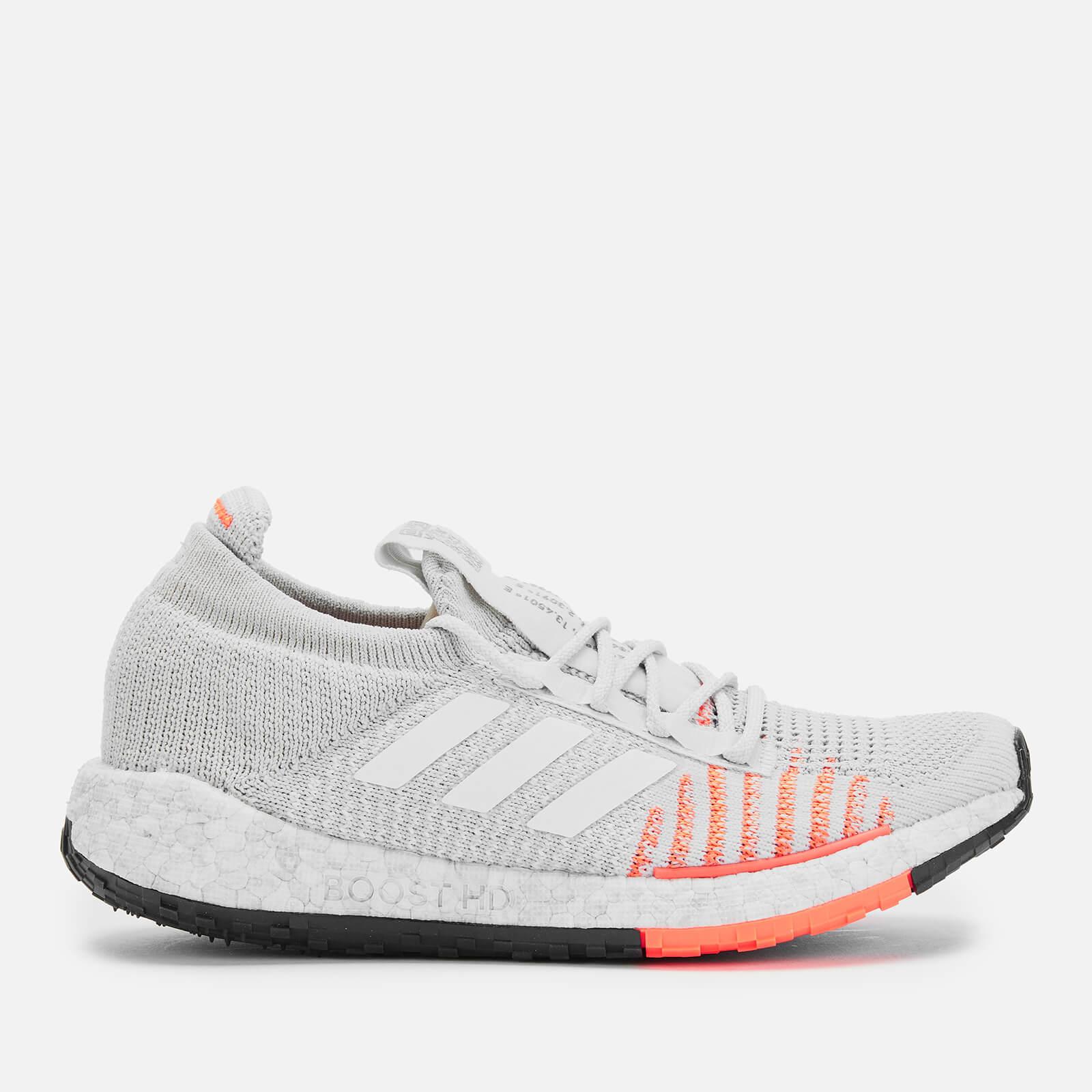 adidas Women's Pulse Boost HD Trainers - Grey/Orange - UK 4 - Grey