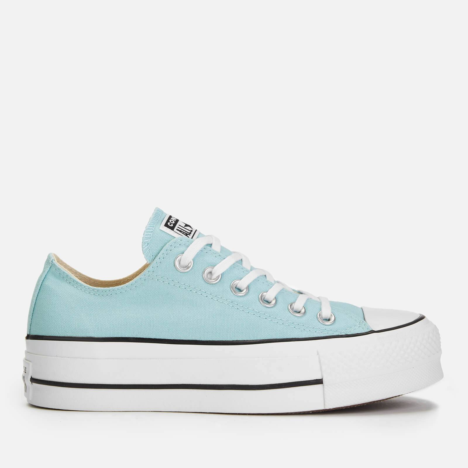 Converse Women's Chuck Taylor All Star Lift Ox Trainers - Ocean Bliss/White/Black - UK 6 - Blue