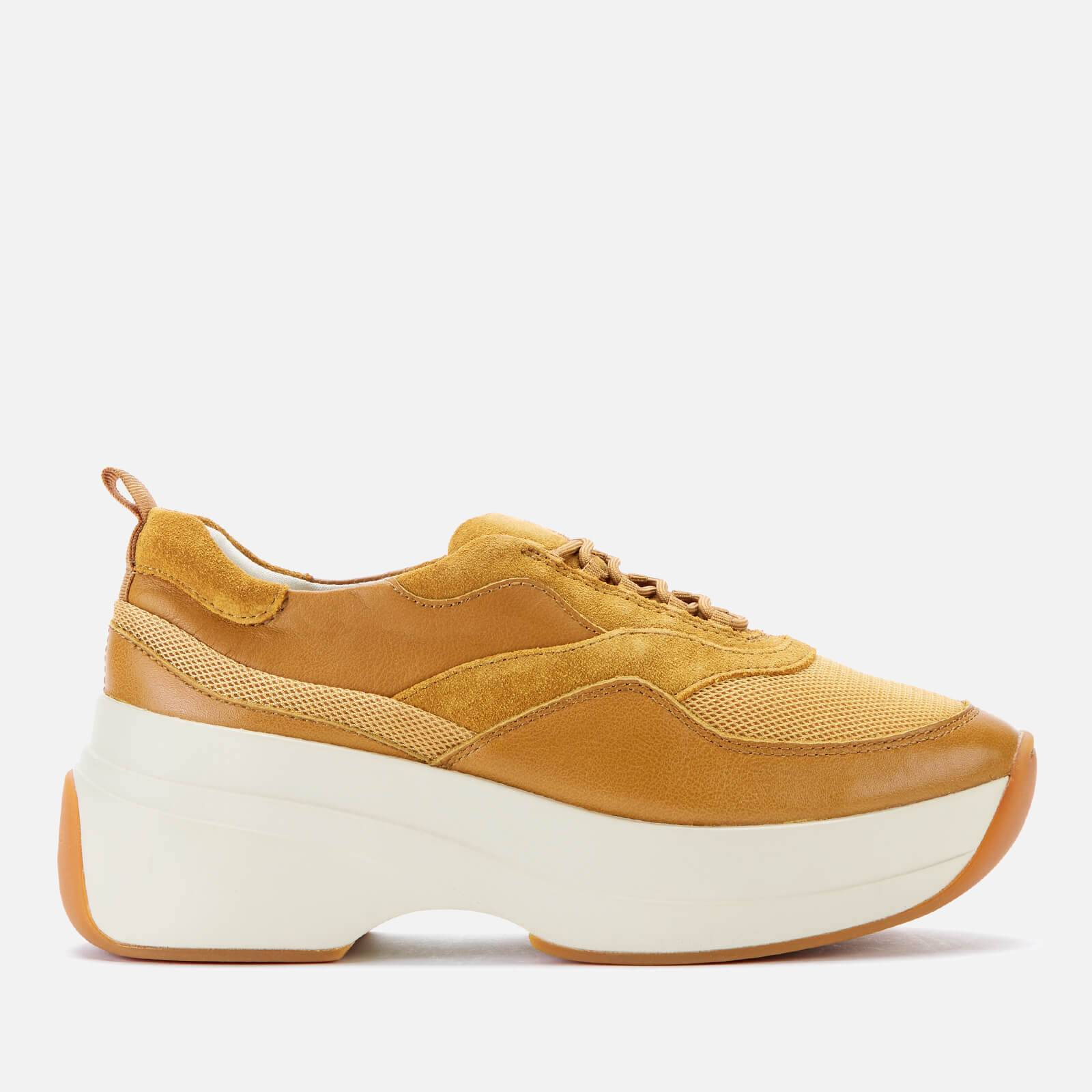Vagabond Women's Sprint 2.0 Chunky Trainers - Golden Oat - UK 4 - Yellow