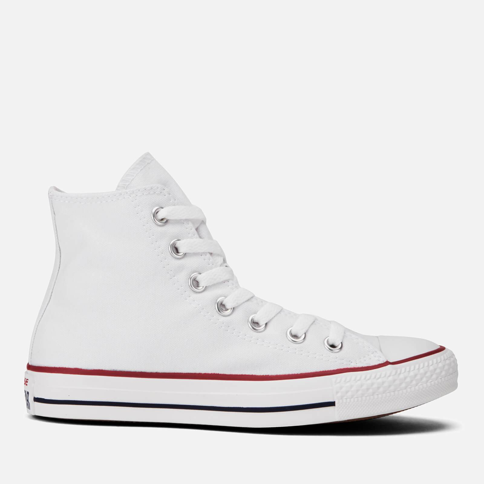 Converse Chuck Taylor All Star Canvas Hi-Top Trainers - Optical White - UK 8