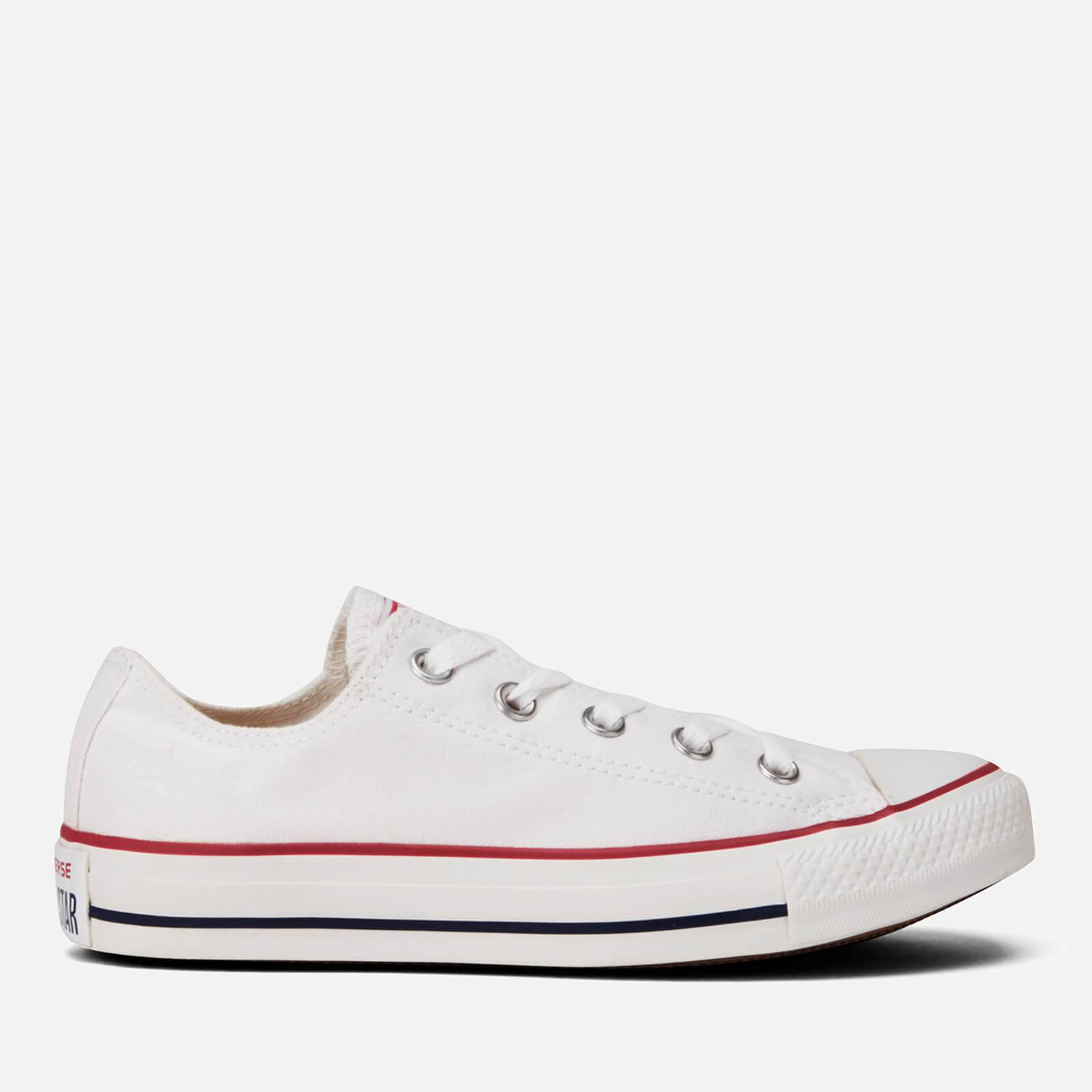 Converse Chuck Taylor All Star Ox Canvas Trainers - Optical White - UK 8