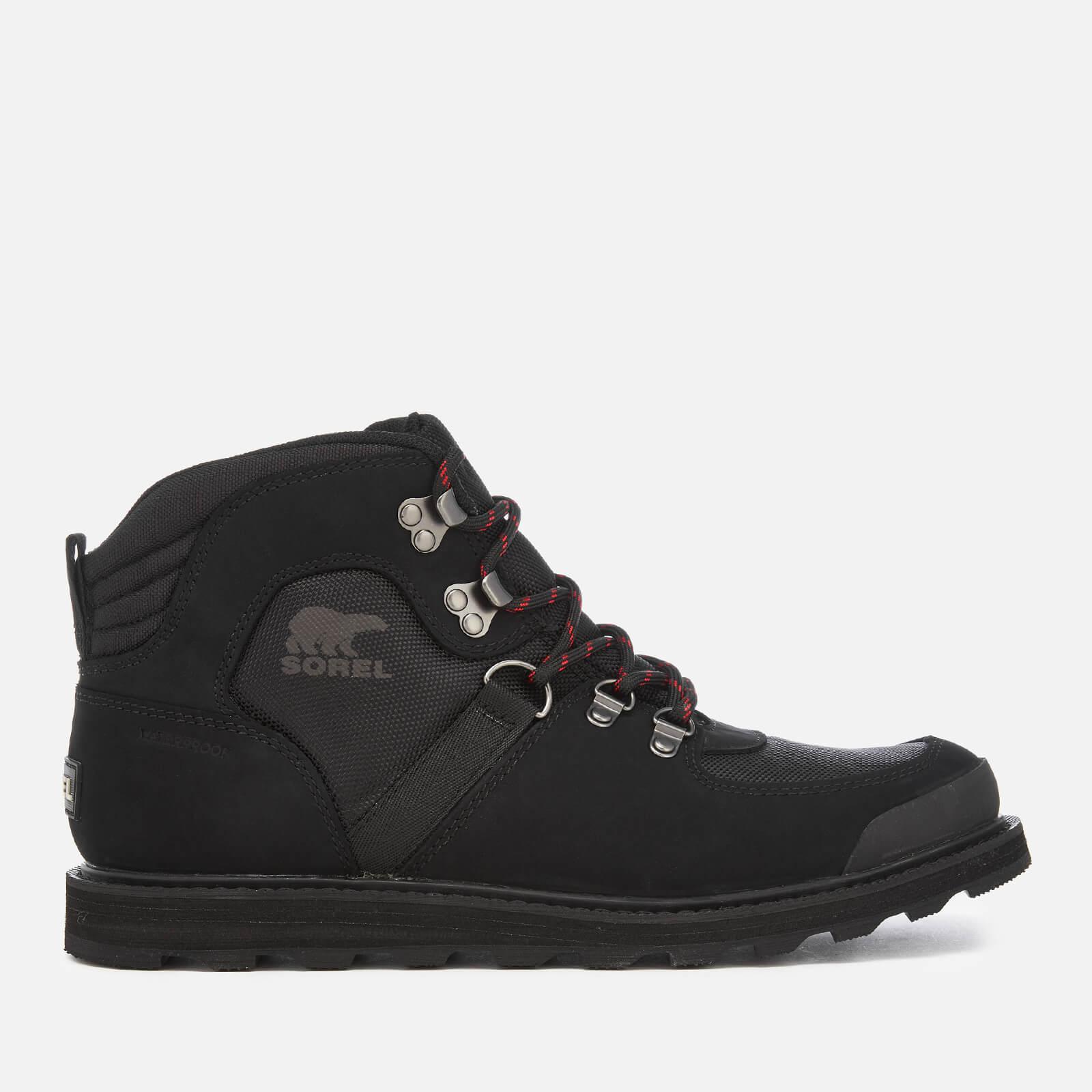 Sorel Men's Madson Sport Hiker Style Boots - Black - UK 10