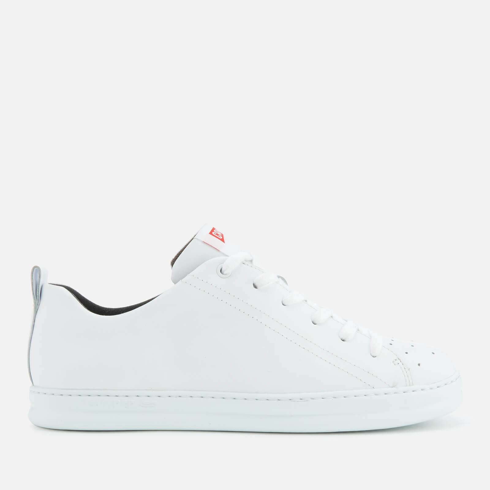 Camper Men's Runner Leather Low Top Trainers - White Natural - UK 11 - White