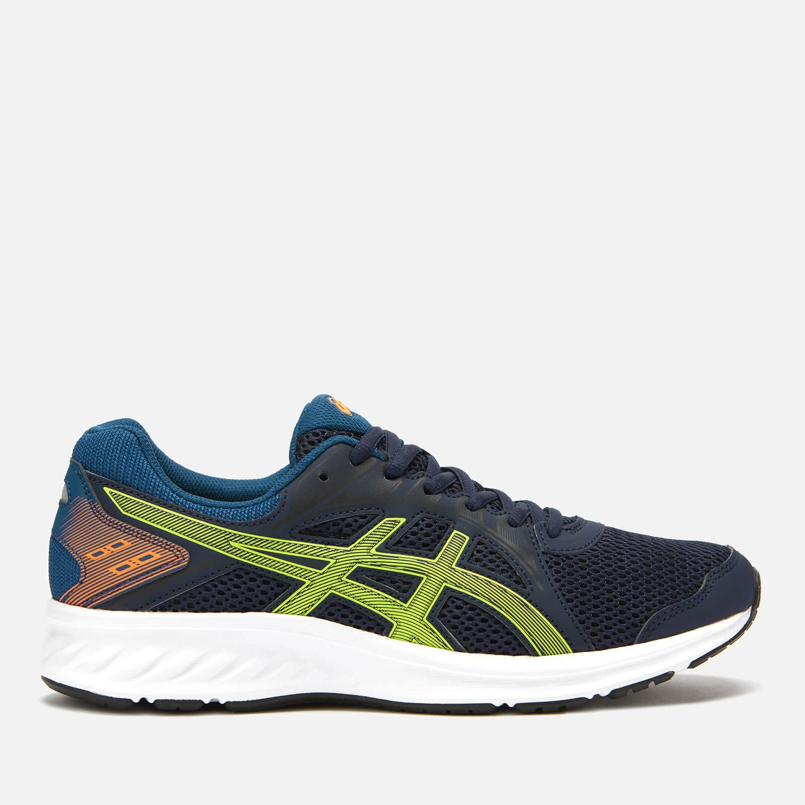 Asics Men's Running Jolt 2 Trainers - Midnight/Sour Yuzu - UK 9 - Blue