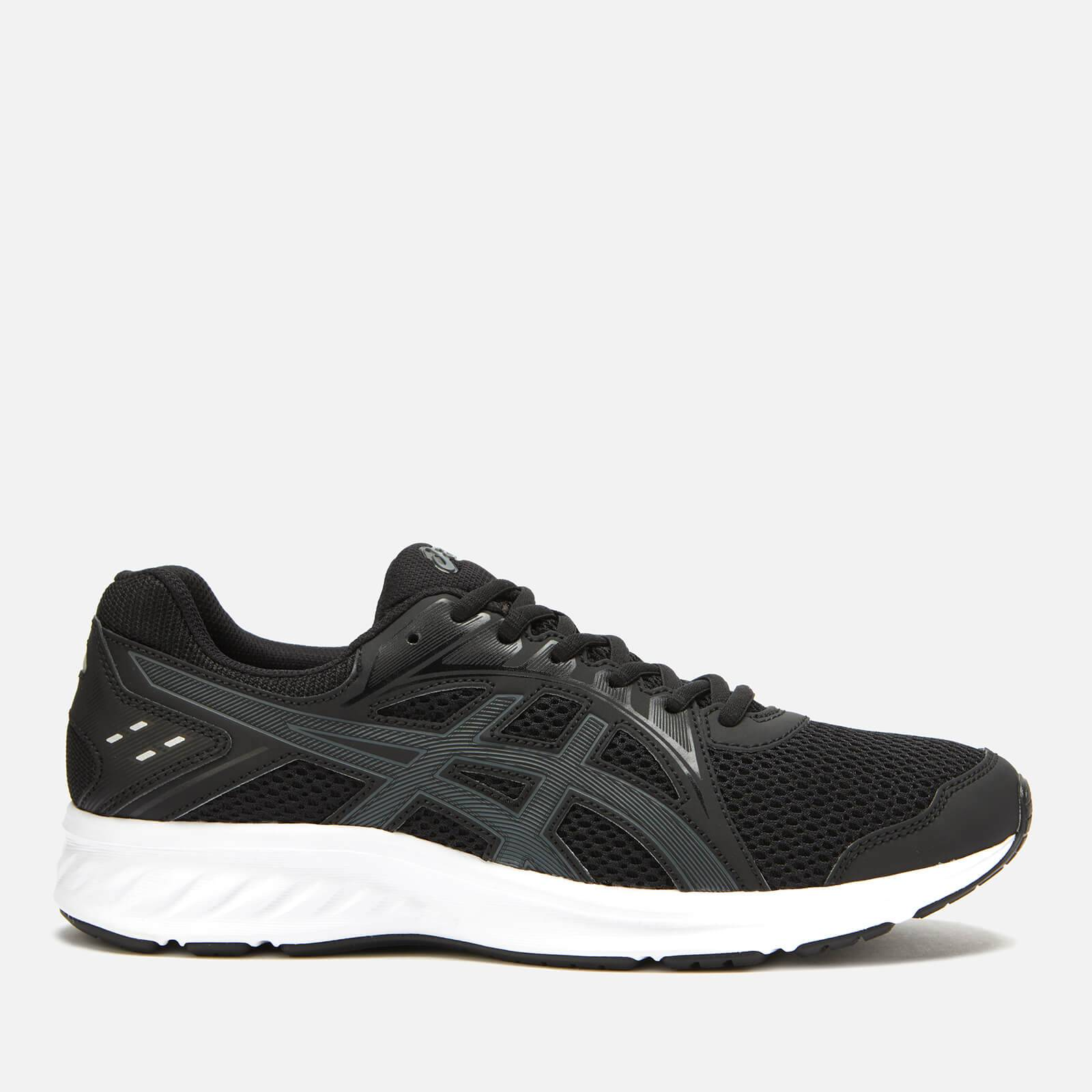 Asics Men's Running Jolt 2 Trainers - Black/Steel Grey - UK 10 - Black