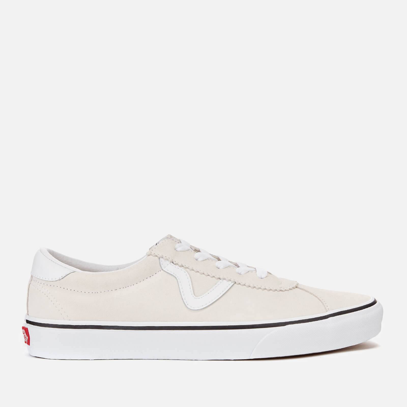 Vans Sport Suede Trainers - White - UK 9