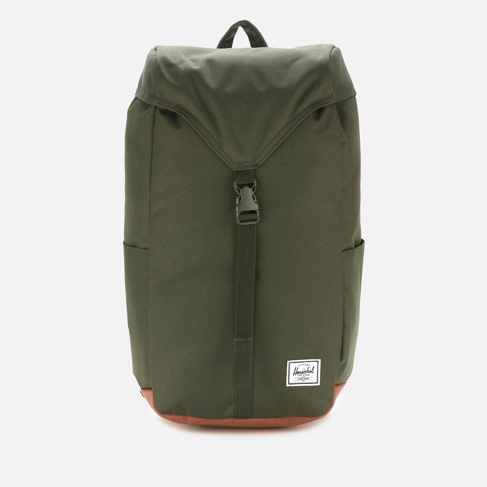 Herschel Supply Co. Men's Thompson Back Pack - Dark Olive/Saddle Brown