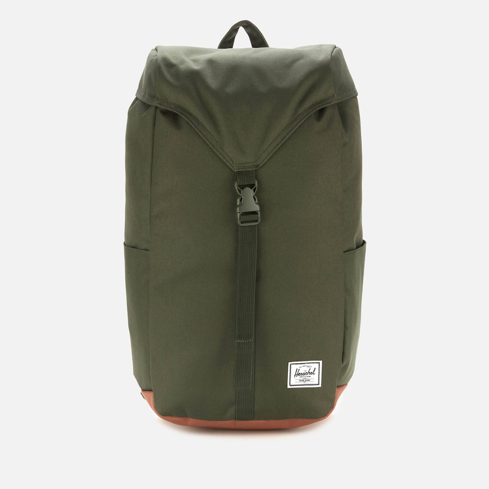 Herschel Supply Co. Men's Thompson Back Pack - Dark Olive/Saddle Brown