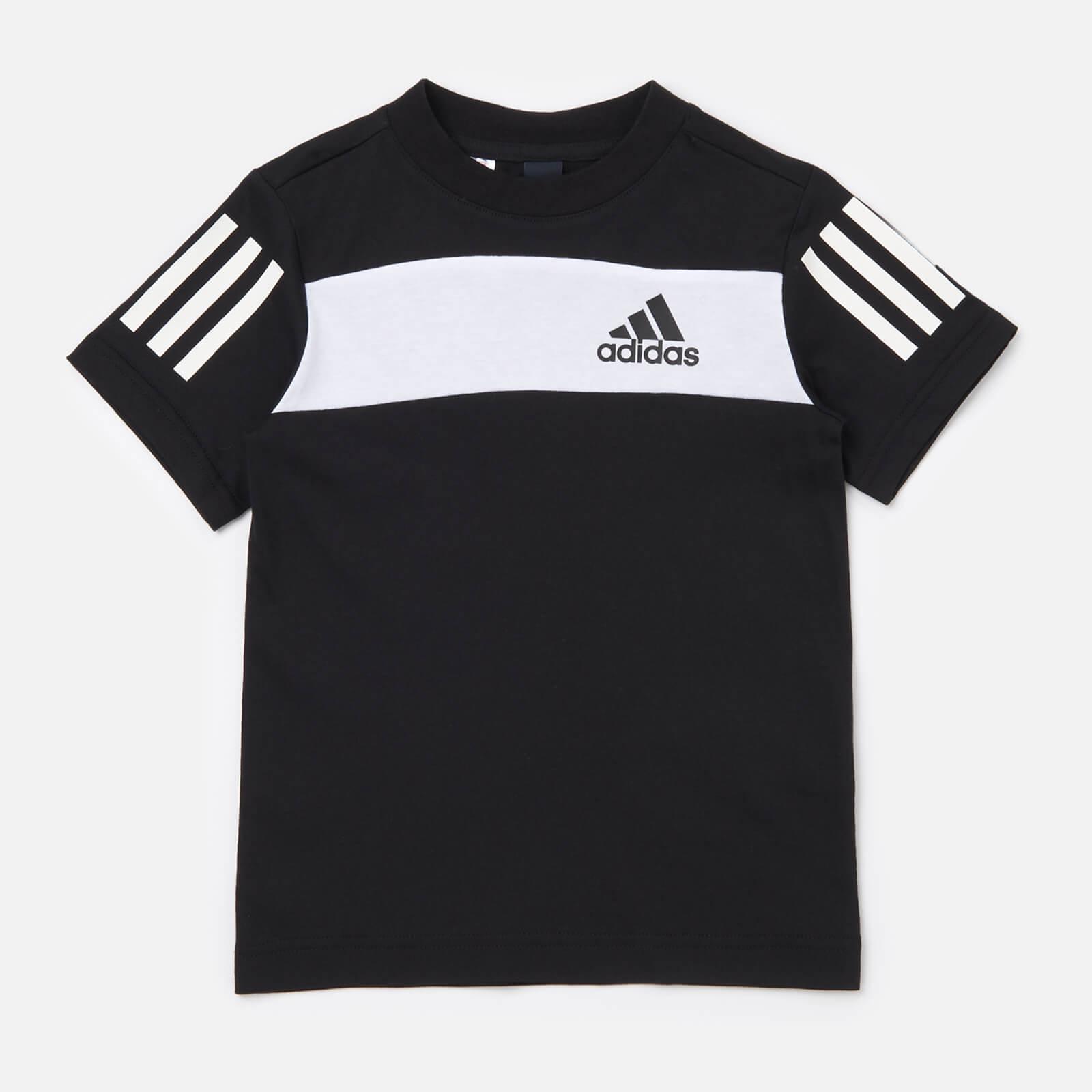 adidas Boys' Young Boys Sid T-Shirt - Black - 5-6 Years
