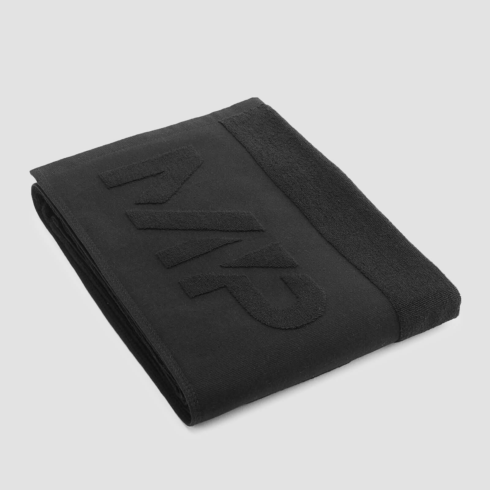 Myprotein MP Essentials Large Towel - Black