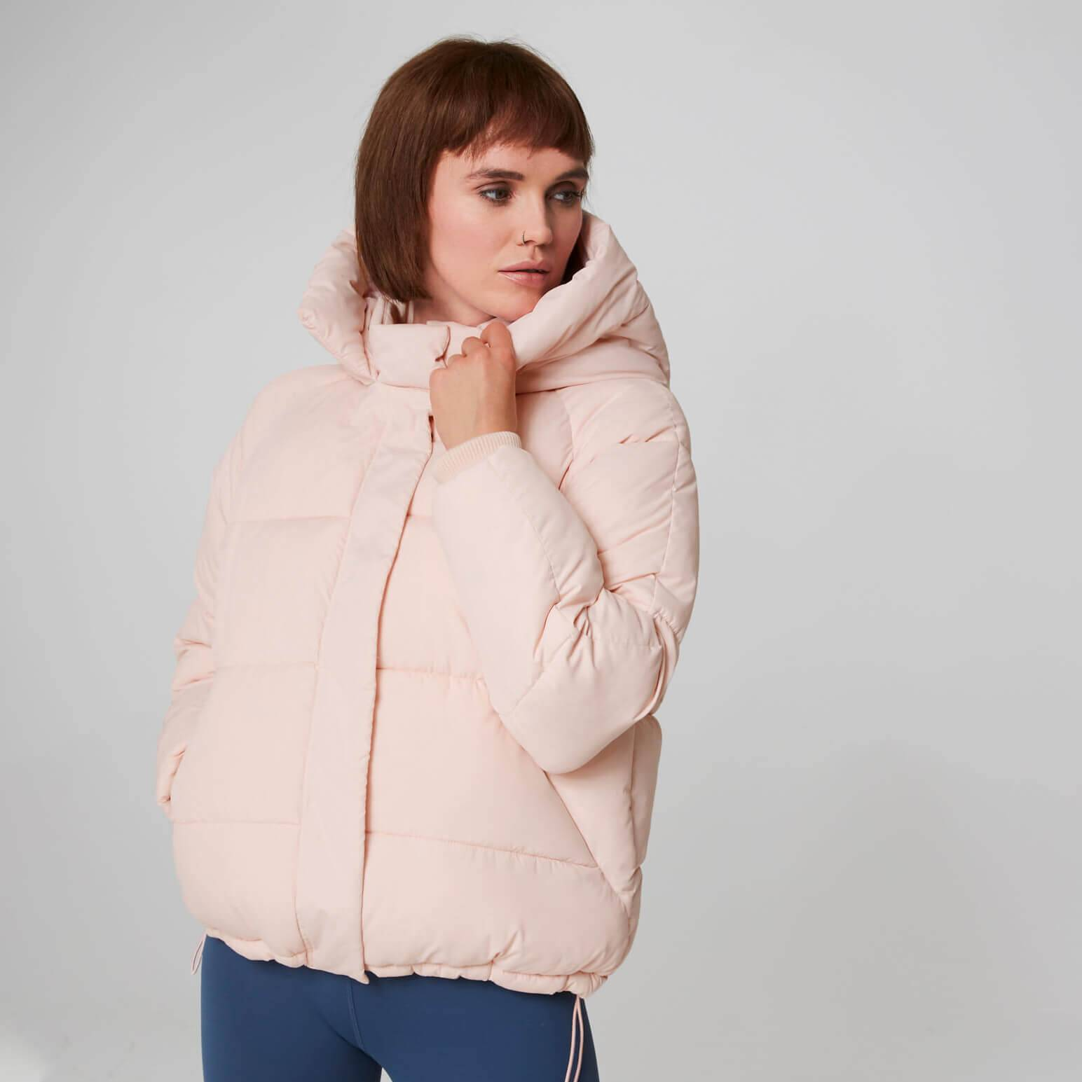 Myprotein MP Core Puffer Jacket - Pearl Blush - S