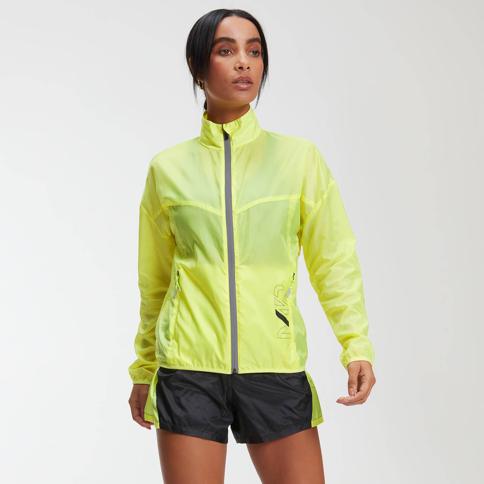 Myprotein MP Training Women's Reflective Windbreaker - Limeade - XL