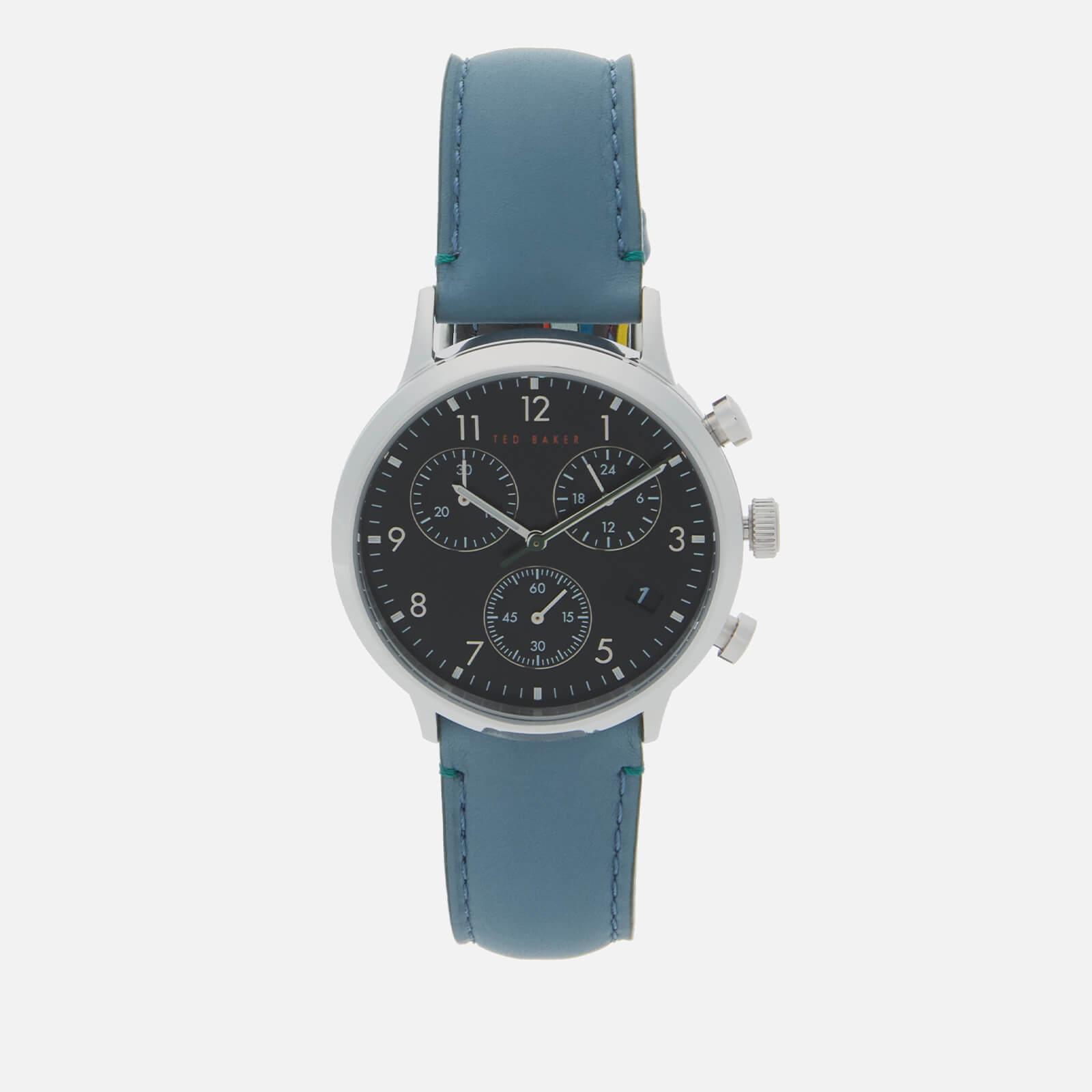 Ted Baker Men's Cosmop Chrono Watch - Black/Blue