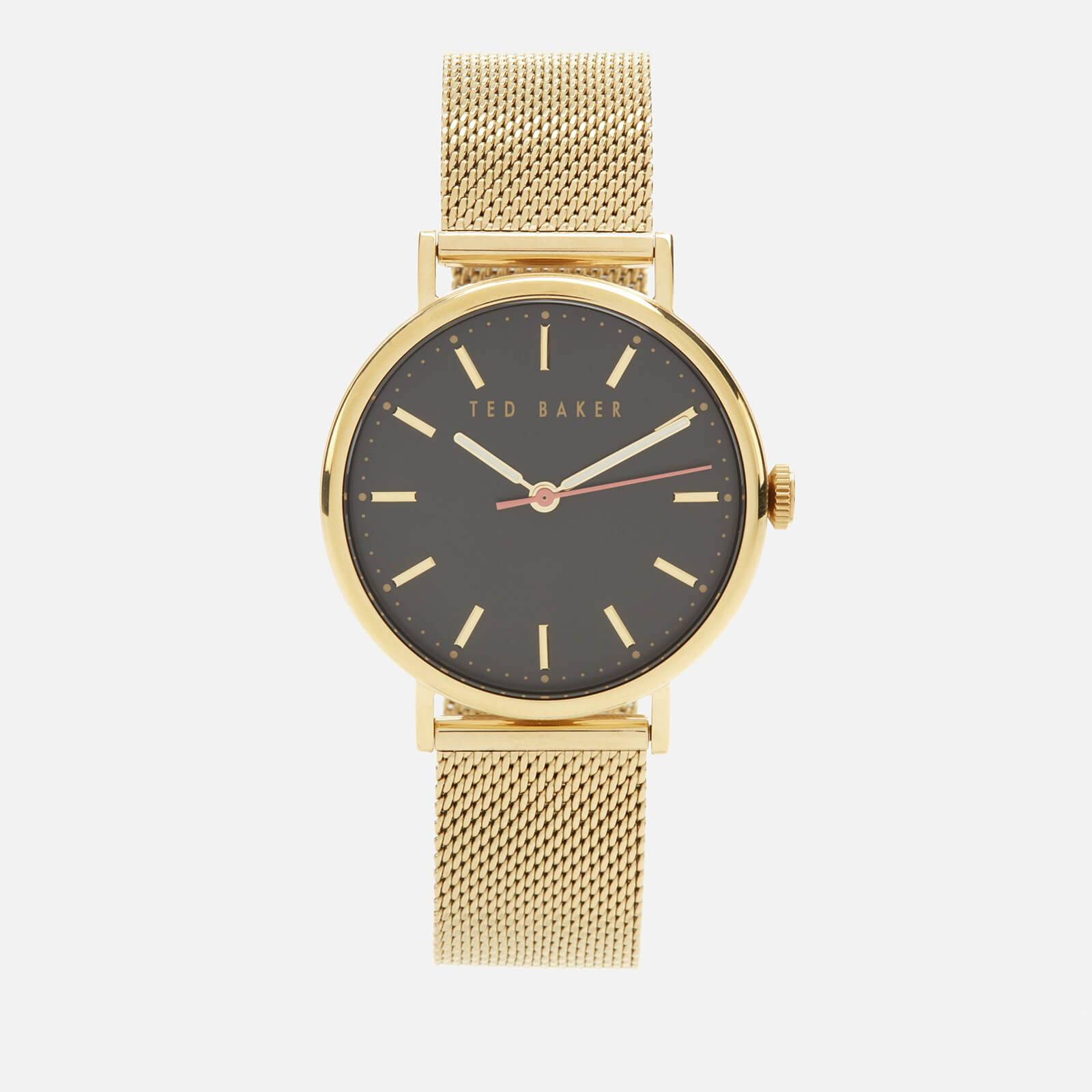 Ted Baker Women's Phylipa Metal Watch - Black/Gold