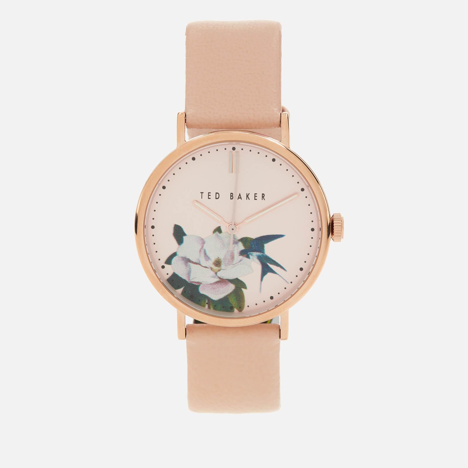 Ted Baker Women's Phylipa Flower Watch - Pink