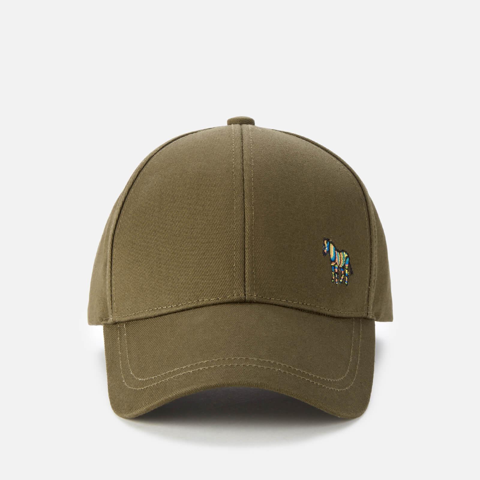 PS Paul Smith Men's Zebra Baseball Cap - Khaki