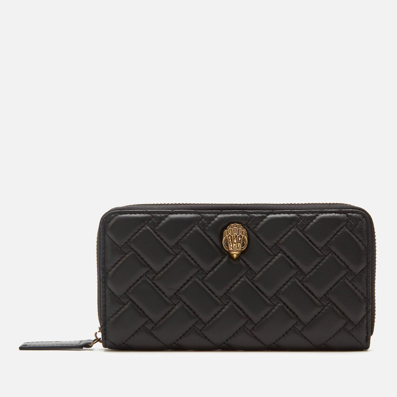 Kurt Geiger London Women's Kensington Zip Around Wallet - Black