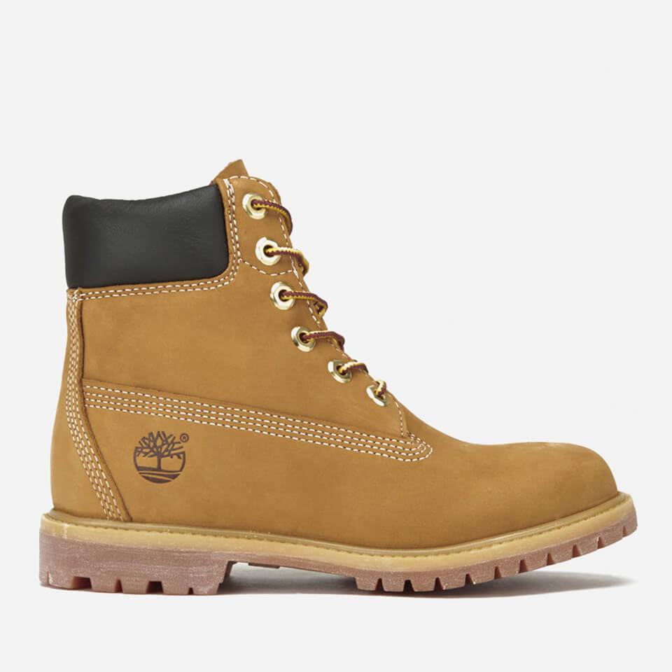 Timberland Women's 6 Inch Nubuck Premium Boots - Wheat - UK 6