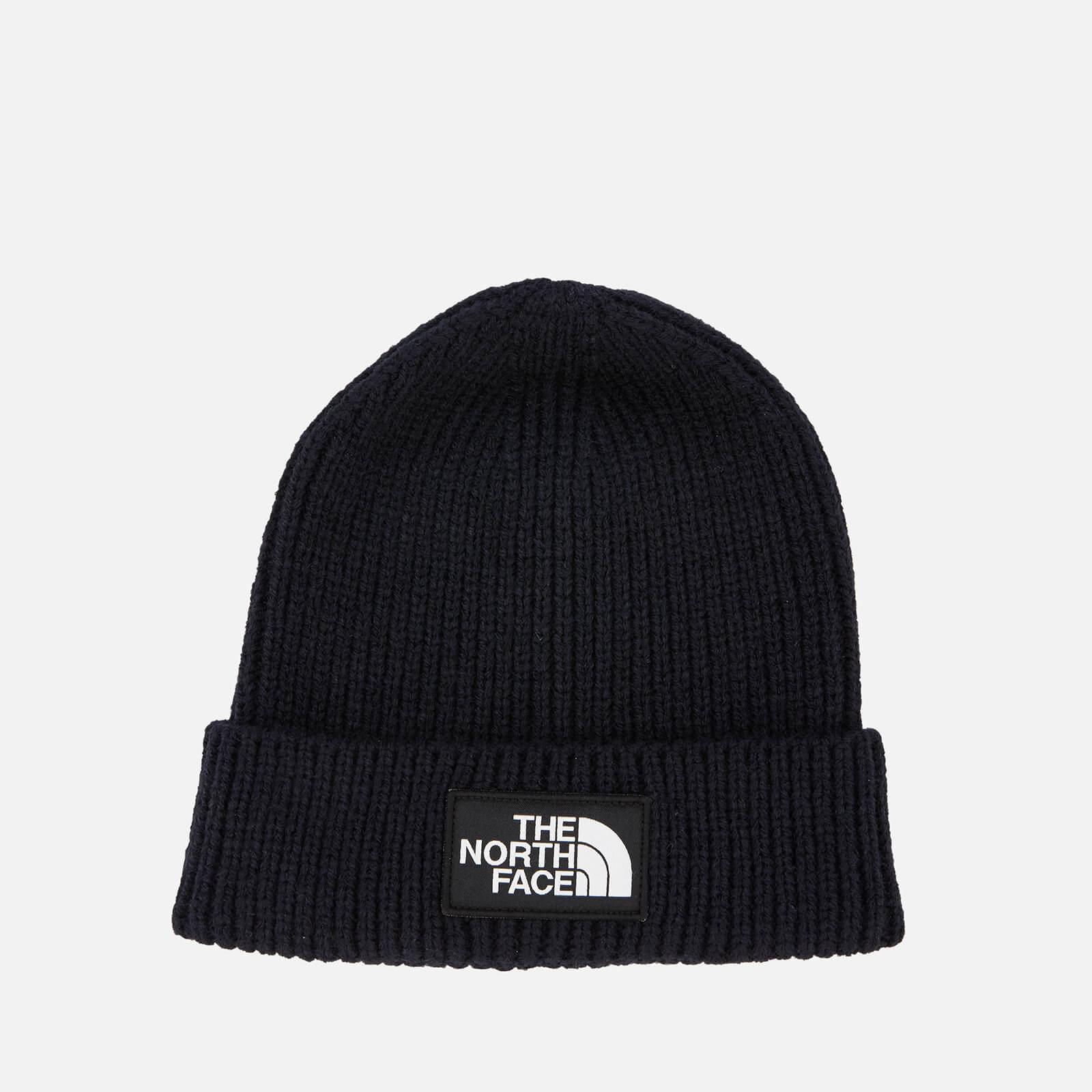 The North Face Men's Logo Box Cuffed Beanie Hat - Urban Navy