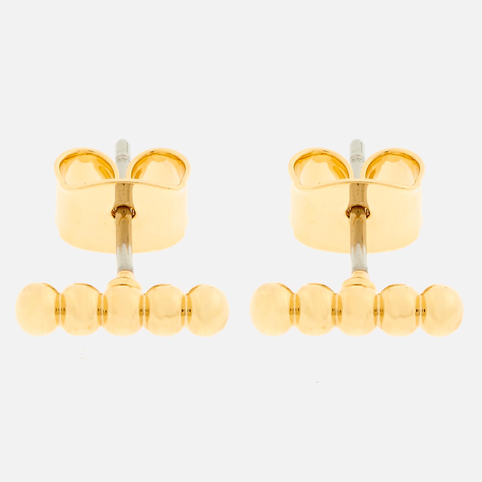 Whistles Women's Seed Bead Bar Stud Earrings - Gold