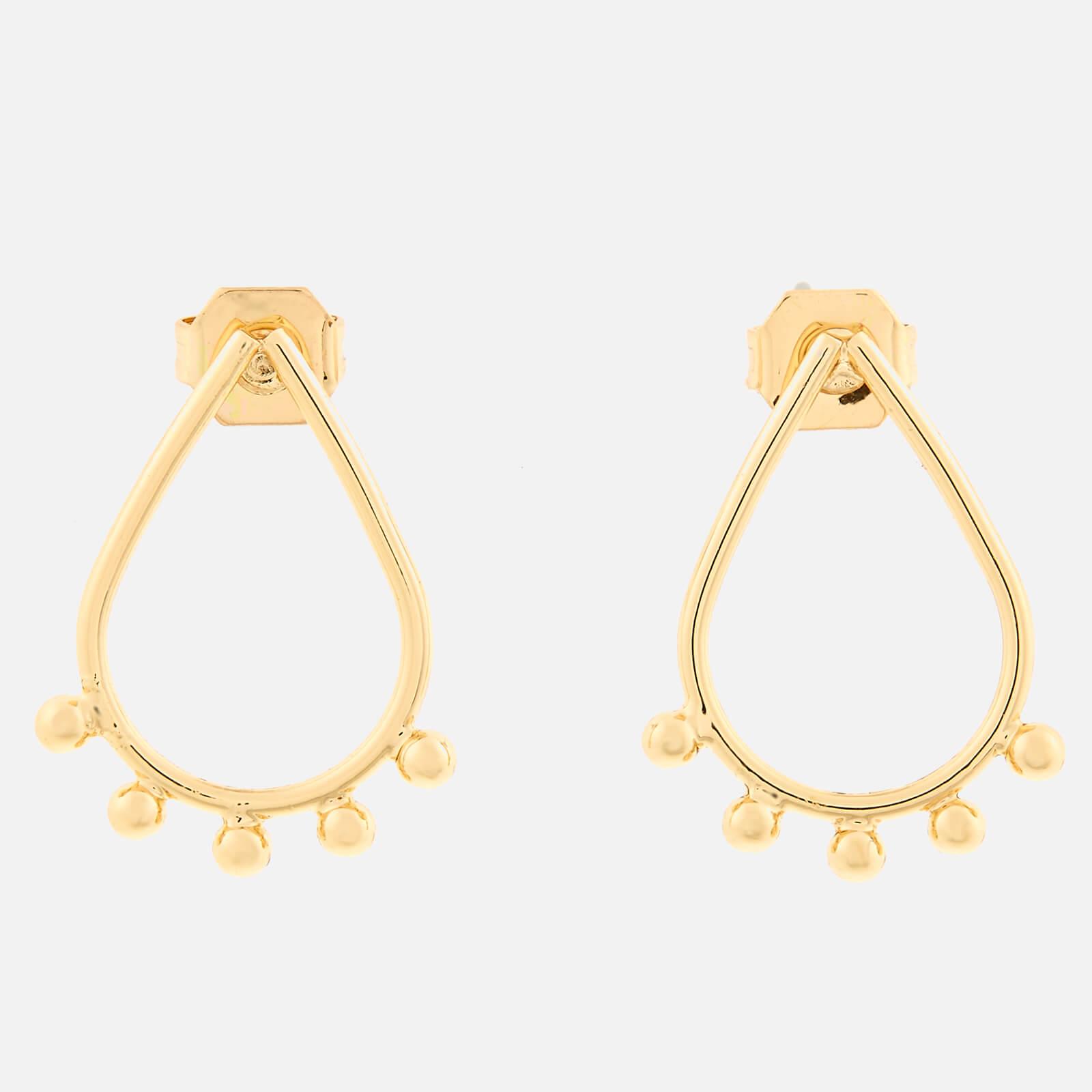 Whistles Women's Teardrop Stud Earrings - Gold