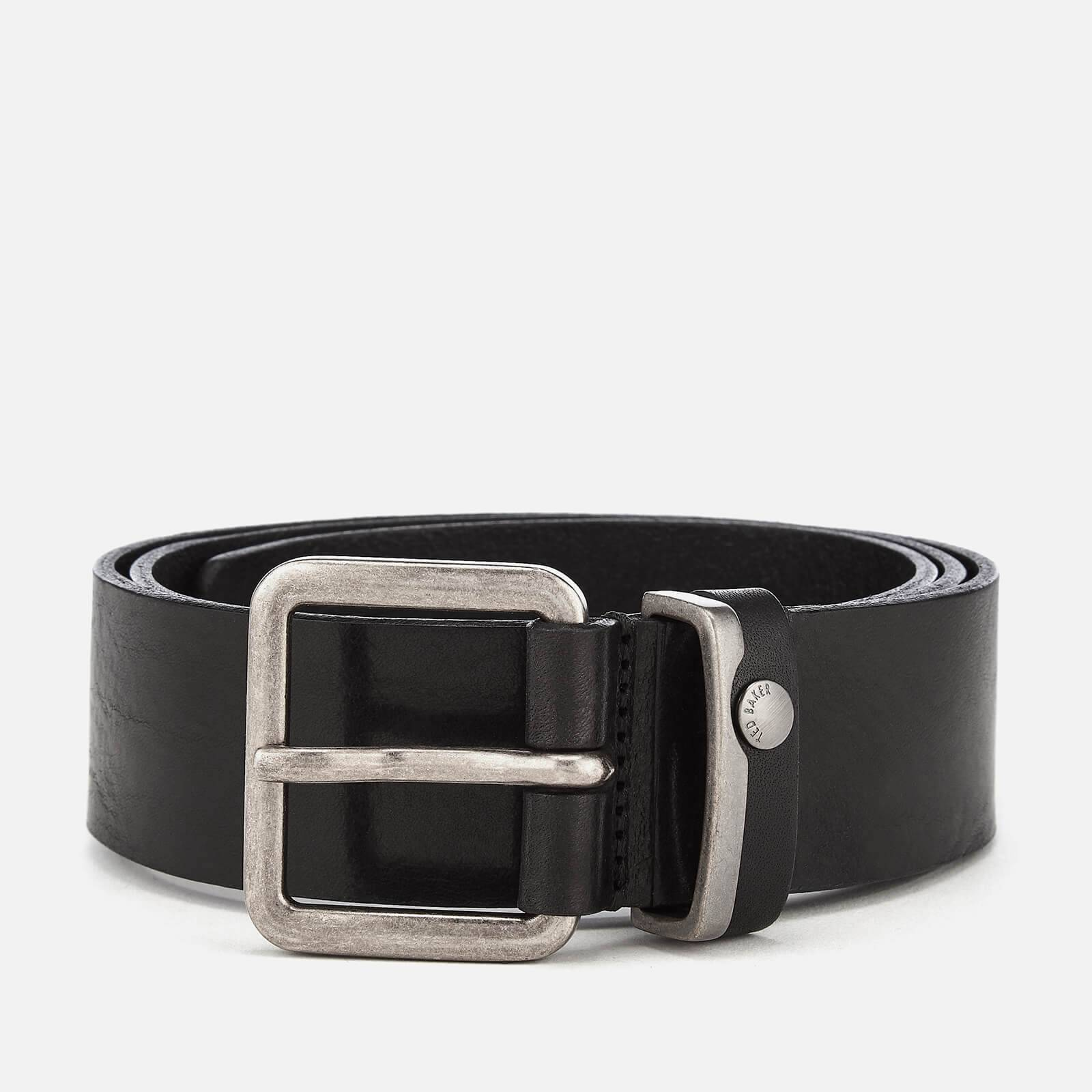 Ted Baker Men's Katchup Leather Belt - Black - W34 - Black