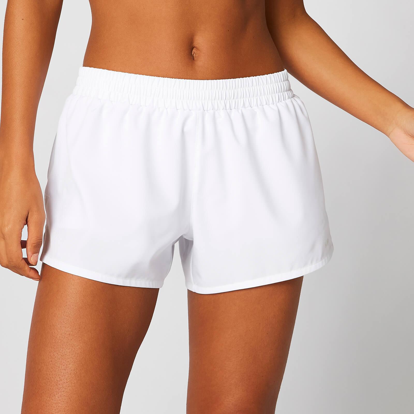 Myprotein MP Energy Dual Shorts - White - XL