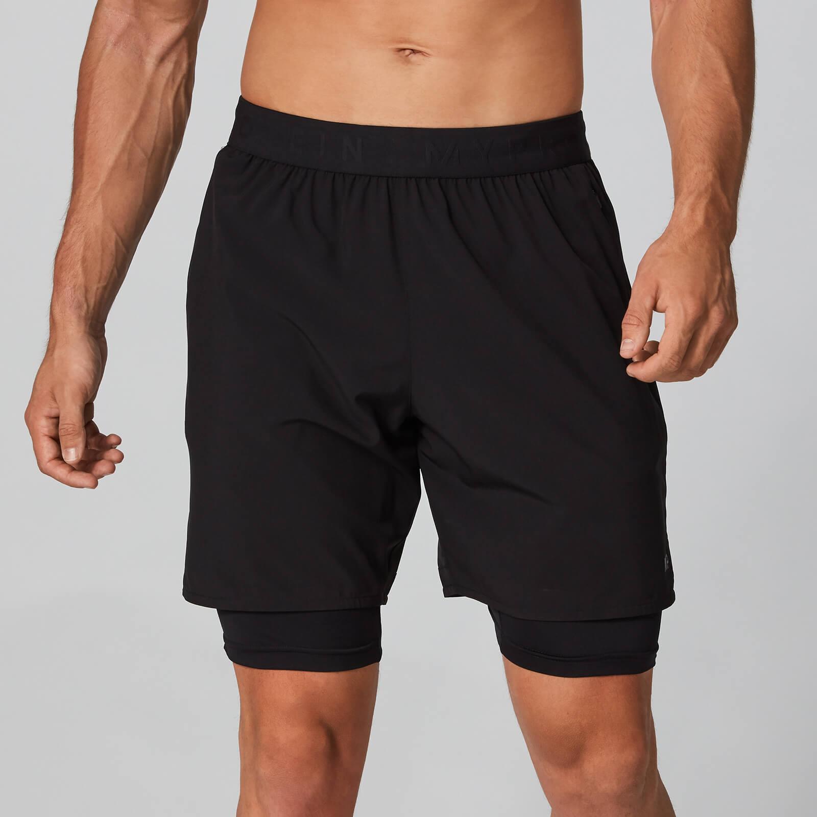 Myprotein Power Shorts 7 Inch - Black - XL