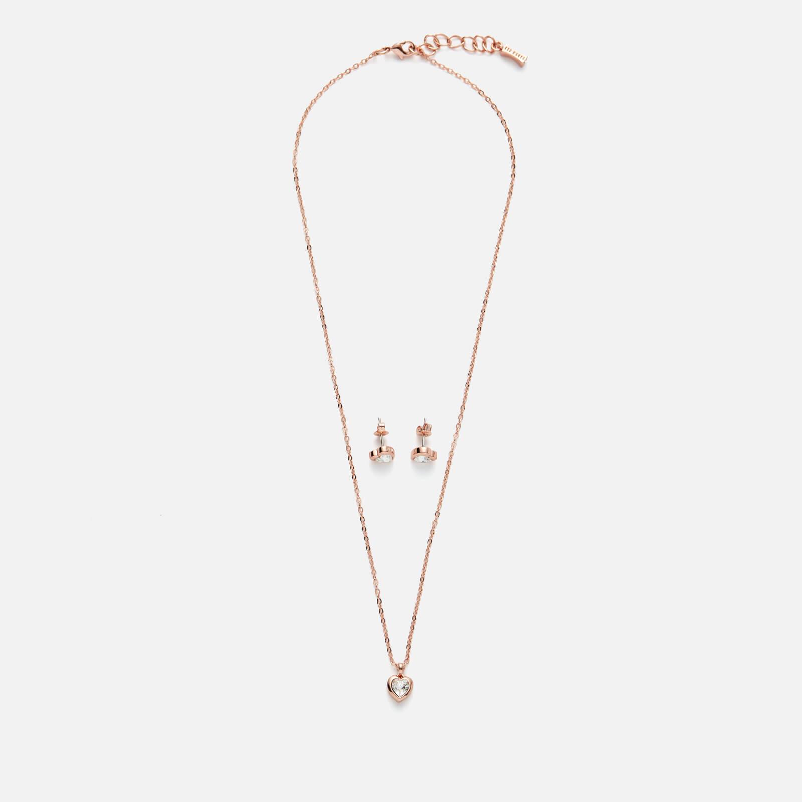 Ted Baker Women's Hadeya Crystal Heart Gift Set - Rose Gold/Crystal