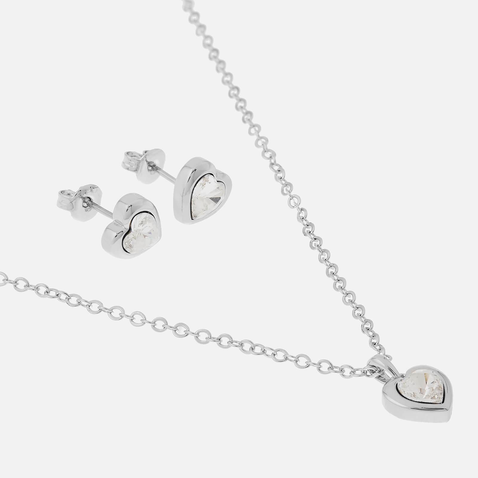 Ted Baker Women's Hadeya Crystal Heart Gift Set - Silver/Crystal