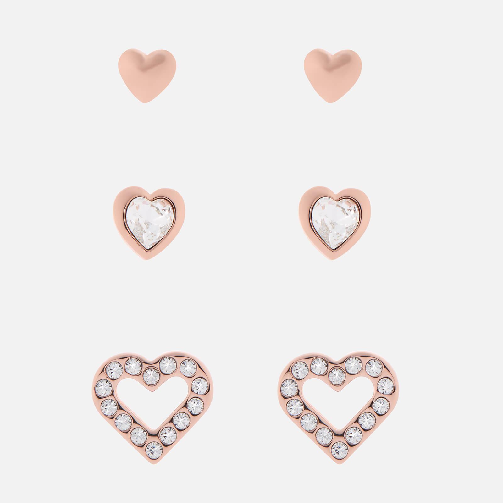 Ted Baker Women's Laaria Heart Trio Gift Set - Rose Gold/Crystal
