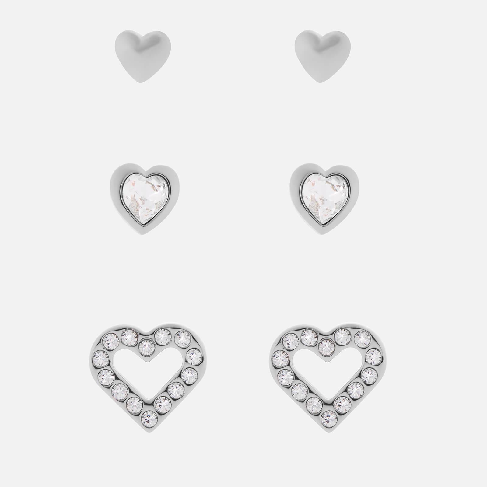 Ted Baker Women's Laaria Heart Trio Gift Set - Silver/Crystal